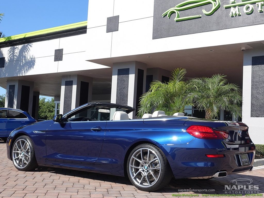 2012 BMW 650i Convertible - Photo 17 - Naples, FL 34104