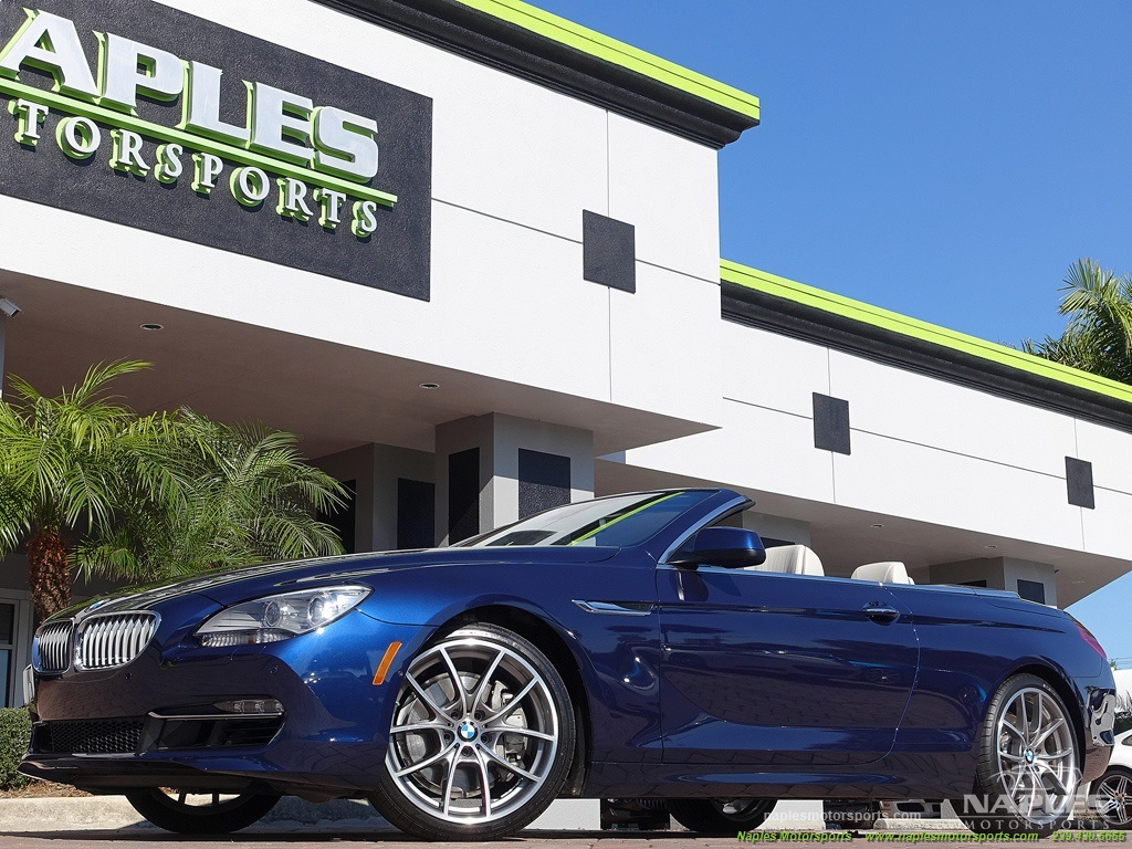 2012 BMW 650i Convertible - Photo 24 - Naples, FL 34104