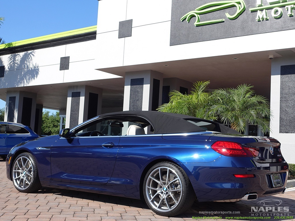 2012 BMW 650i Convertible - Photo 8 - Naples, FL 34104