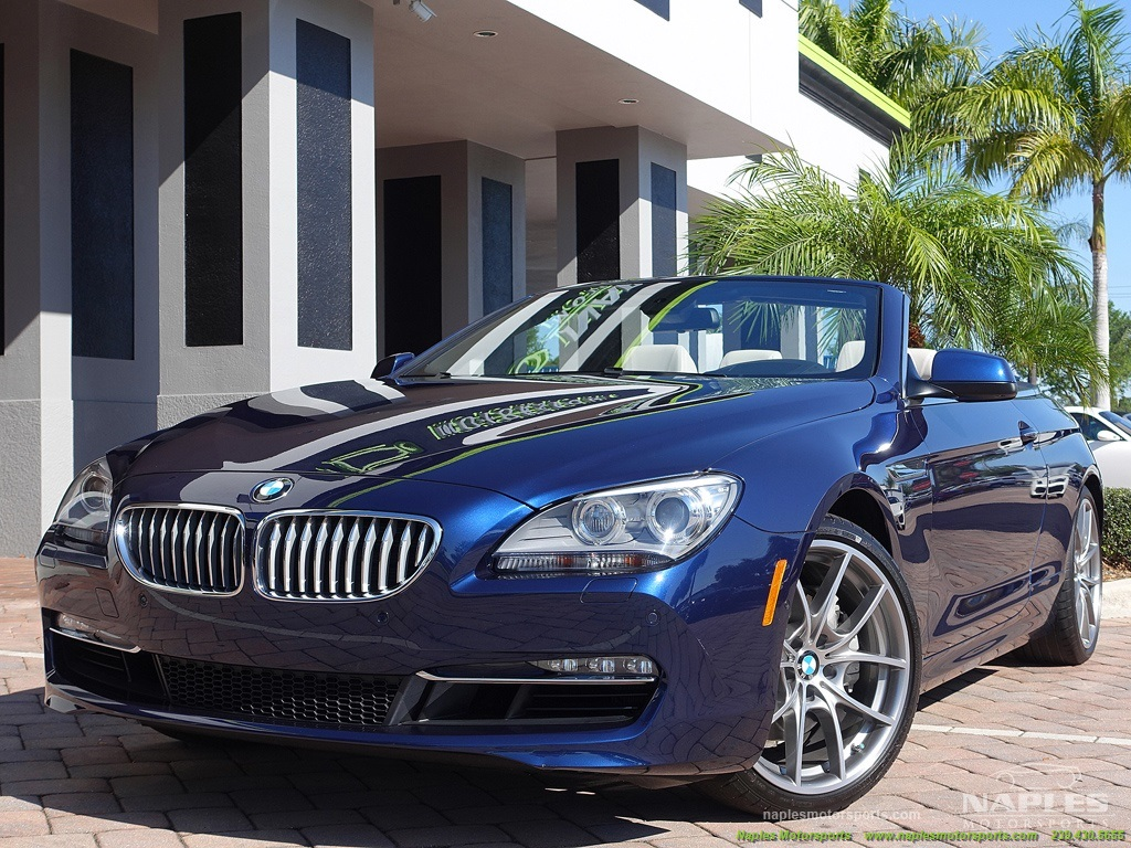 2012 BMW 650i Convertible - Photo 48 - Naples, FL 34104