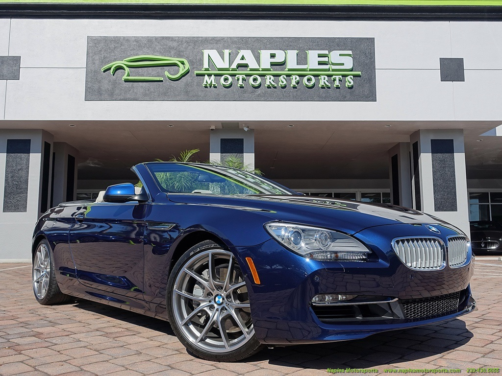 2012 BMW 650i Convertible - Photo 53 - Naples, FL 34104