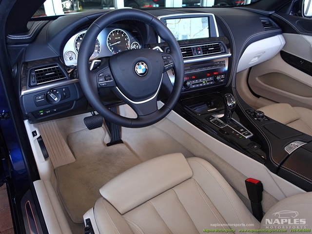 2012 BMW 650i Convertible - Photo 4 - Naples, FL 34104
