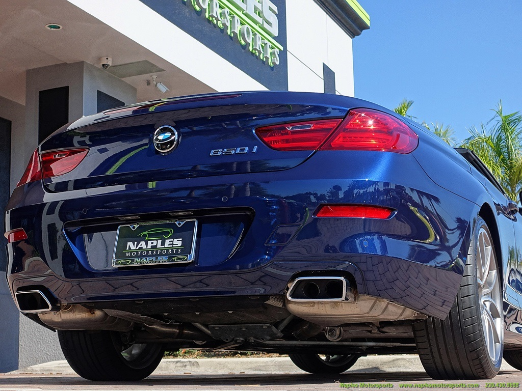 2012 BMW 650i Convertible - Photo 39 - Naples, FL 34104