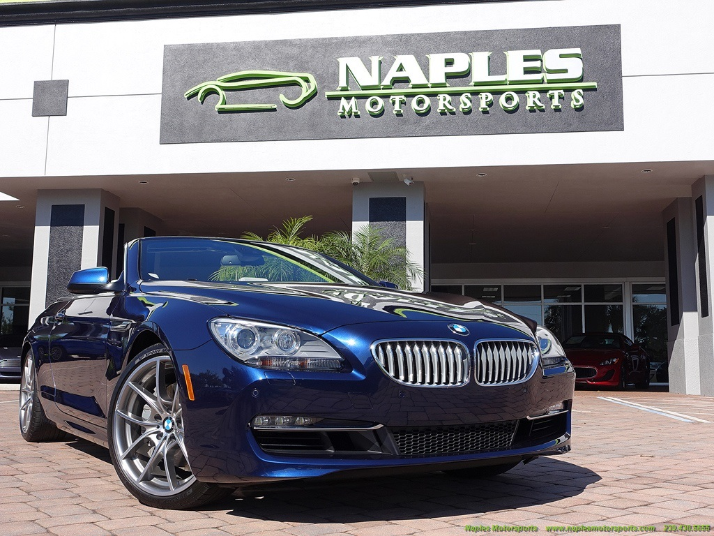 2012 BMW 650i Convertible - Photo 54 - Naples, FL 34104