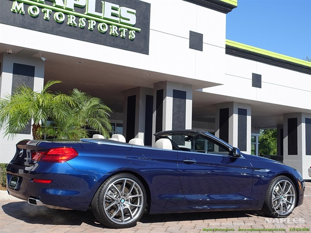 2012 BMW 650i Convertible - Photo 3 - Naples, FL 34104