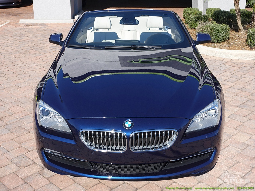 2012 BMW 650i Convertible - Photo 6 - Naples, FL 34104