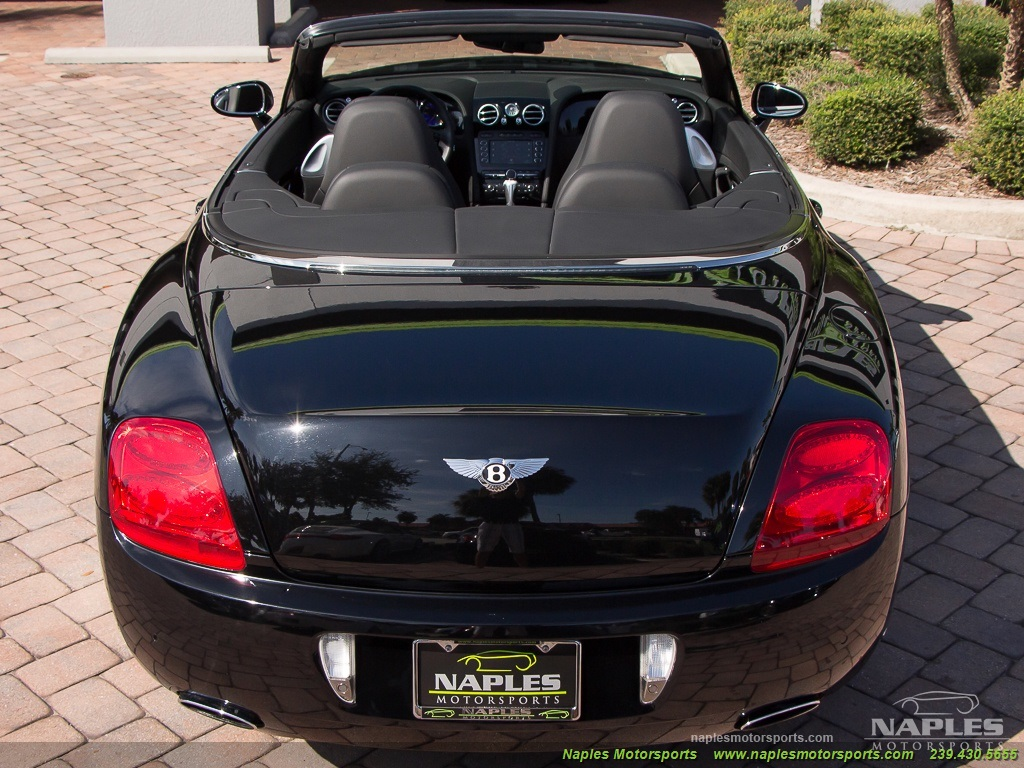 2008 Bentley Continental GT GTC Convertible Mulliner Package - Photo 41 - Naples, FL 34104