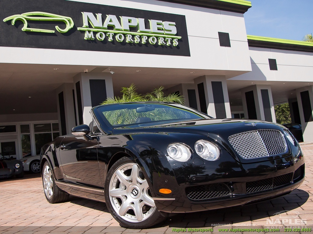 2008 Bentley Continental GT GTC Convertible Mulliner Package - Photo 37 - Naples, FL 34104