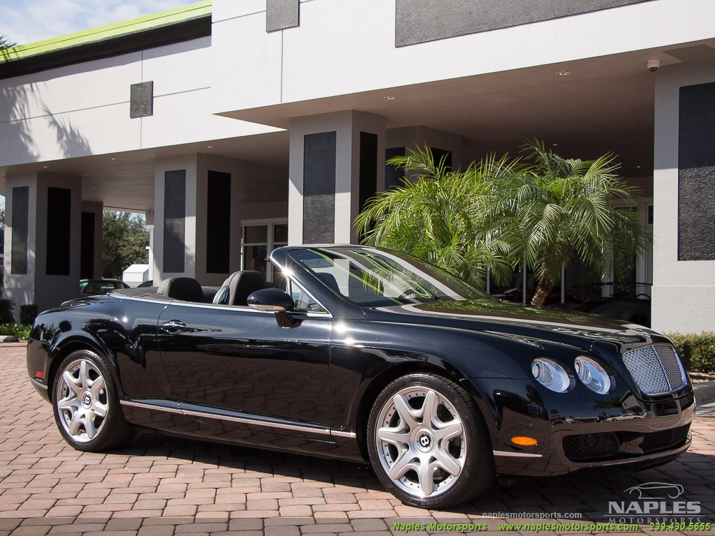 2008 Bentley Continental GT GTC Convertible Mulliner Package - Photo 6 - Naples, FL 34104