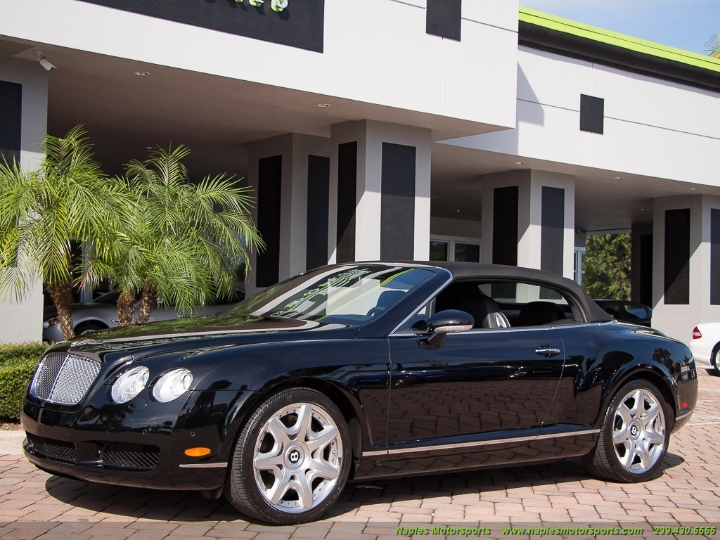 2008 Bentley Continental GT GTC Convertible Mulliner Package - Photo 5 - Naples, FL 34104