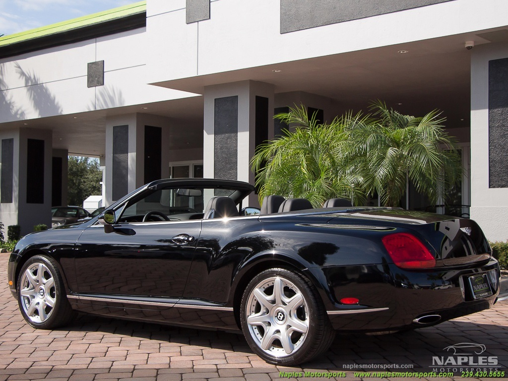 2008 Bentley Continental GT GTC Convertible Mulliner Package - Photo 20 - Naples, FL 34104