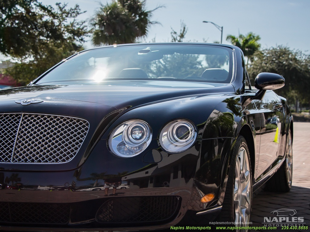 2008 Bentley Continental GT GTC Convertible Mulliner Package - Photo 21 - Naples, FL 34104