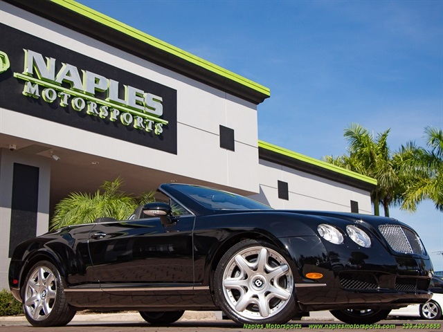 2008 Bentley Continental GT GTC Convertible Mulliner Package - Photo 1 - Naples, FL 34104