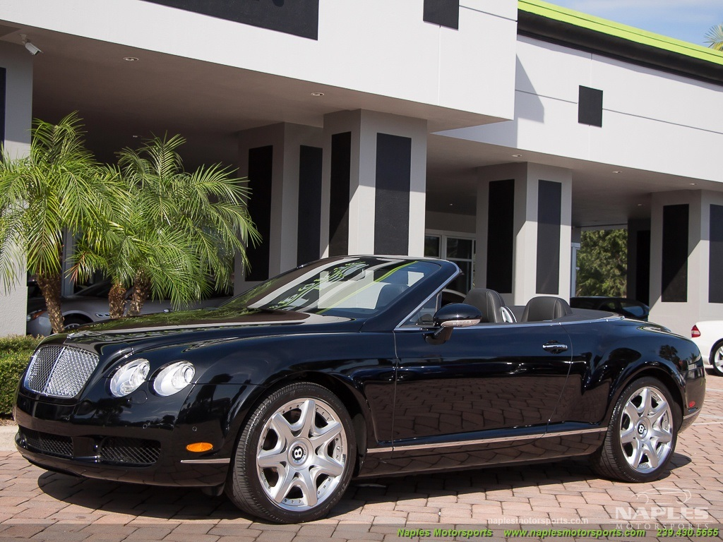 2008 Bentley Continental GT GTC Convertible Mulliner Package - Photo 15 - Naples, FL 34104