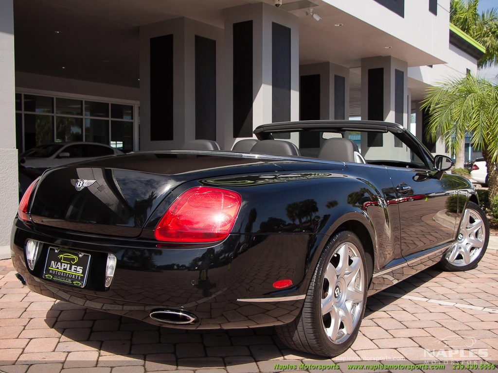 2008 Bentley Continental GT GTC Convertible Mulliner Package - Photo 34 - Naples, FL 34104