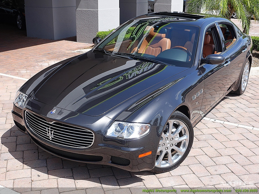 2007 maserati quattroporte sport gt automatic. Black Bedroom Furniture Sets. Home Design Ideas