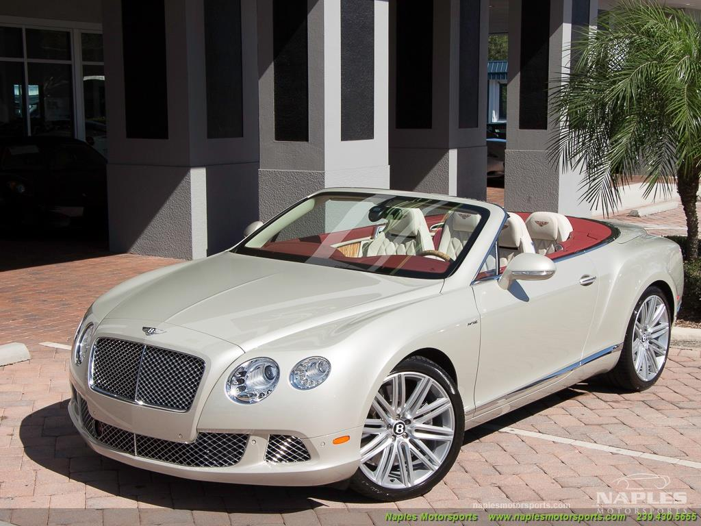 2014 Bentley Continental GT GTC Speed - Photo 6 - Naples, FL 34104