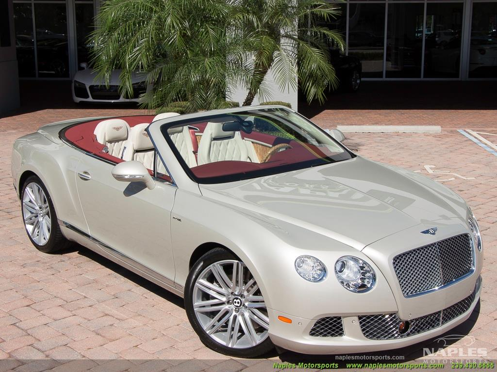 2014 Bentley Continental GT GTC Speed - Photo 16 - Naples, FL 34104