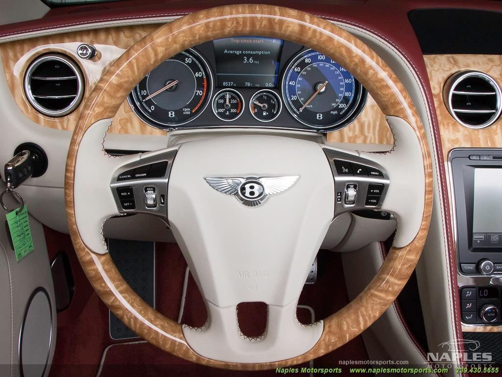 2014 Bentley Continental GT GTC Speed - Photo 29 - Naples, FL 34104