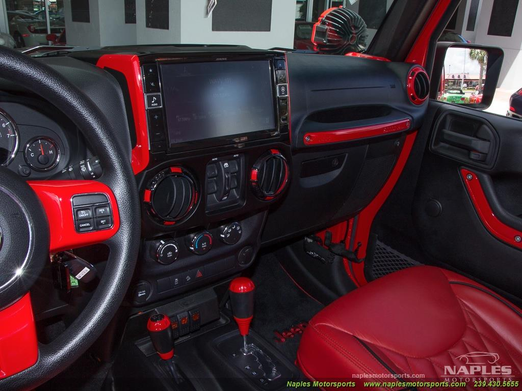 2016 Jeep Wrangler Unlimited Sport - Photo 53 - Naples, FL 34104