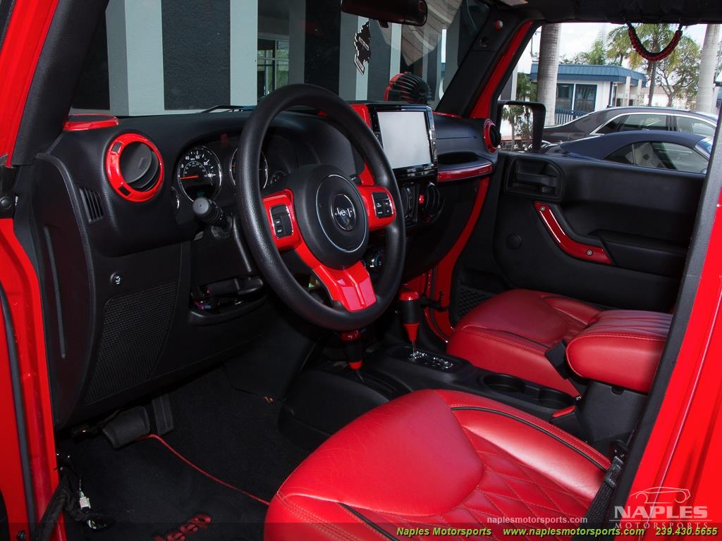 2016 Jeep Wrangler Unlimited Sport - Photo 46 - Naples, FL 34104