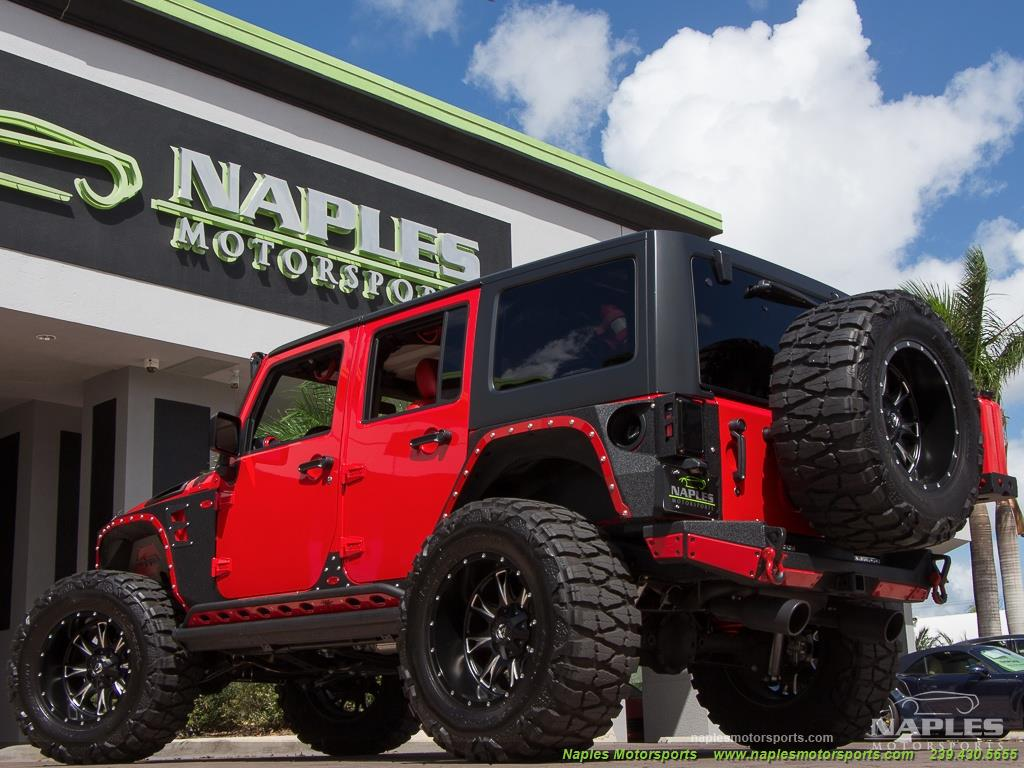 2016 Jeep Wrangler Unlimited Sport - Photo 31 - Naples, FL 34104