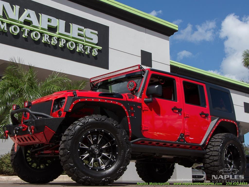 2016 Jeep Wrangler Unlimited Sport - Photo 13 - Naples, FL 34104