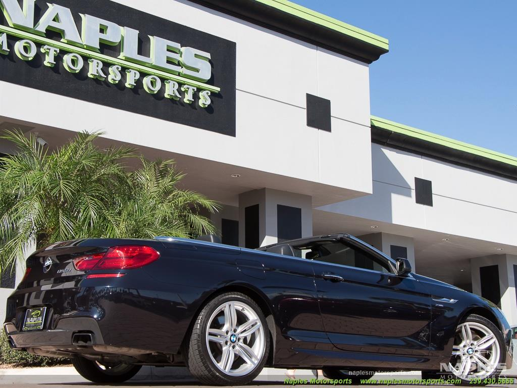 2012 BMW 650i xDrive Convertible - Photo 36 - Naples, FL 34104