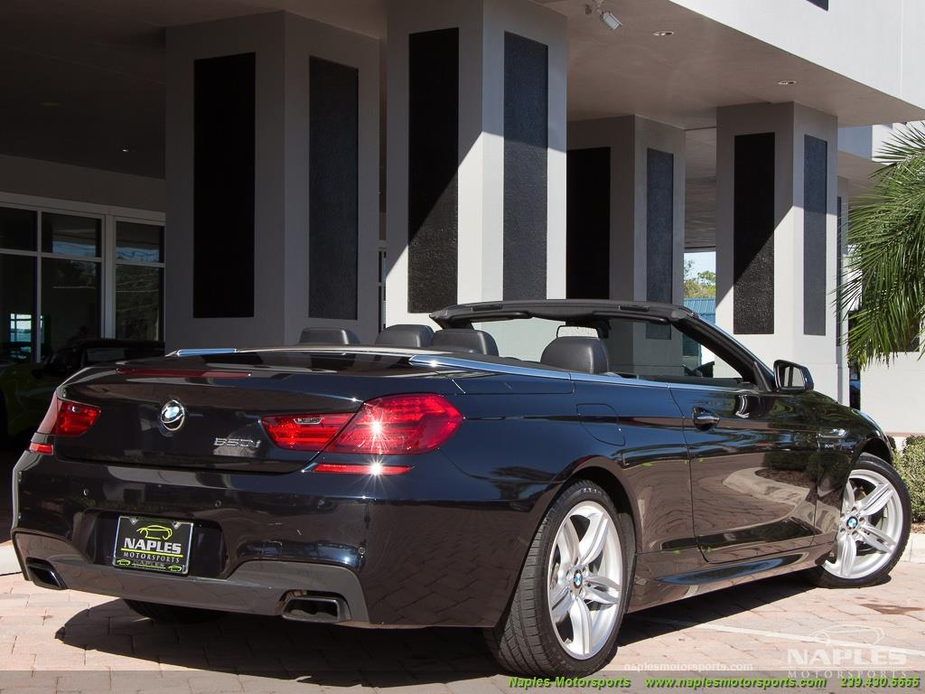 2012 BMW 650i xDrive Convertible - Photo 56 - Naples, FL 34104