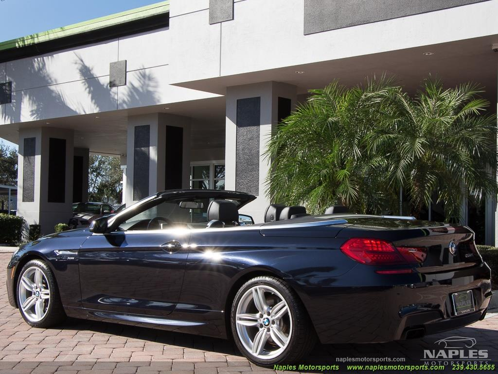 2012 BMW 650i xDrive Convertible - Photo 16 - Naples, FL 34104