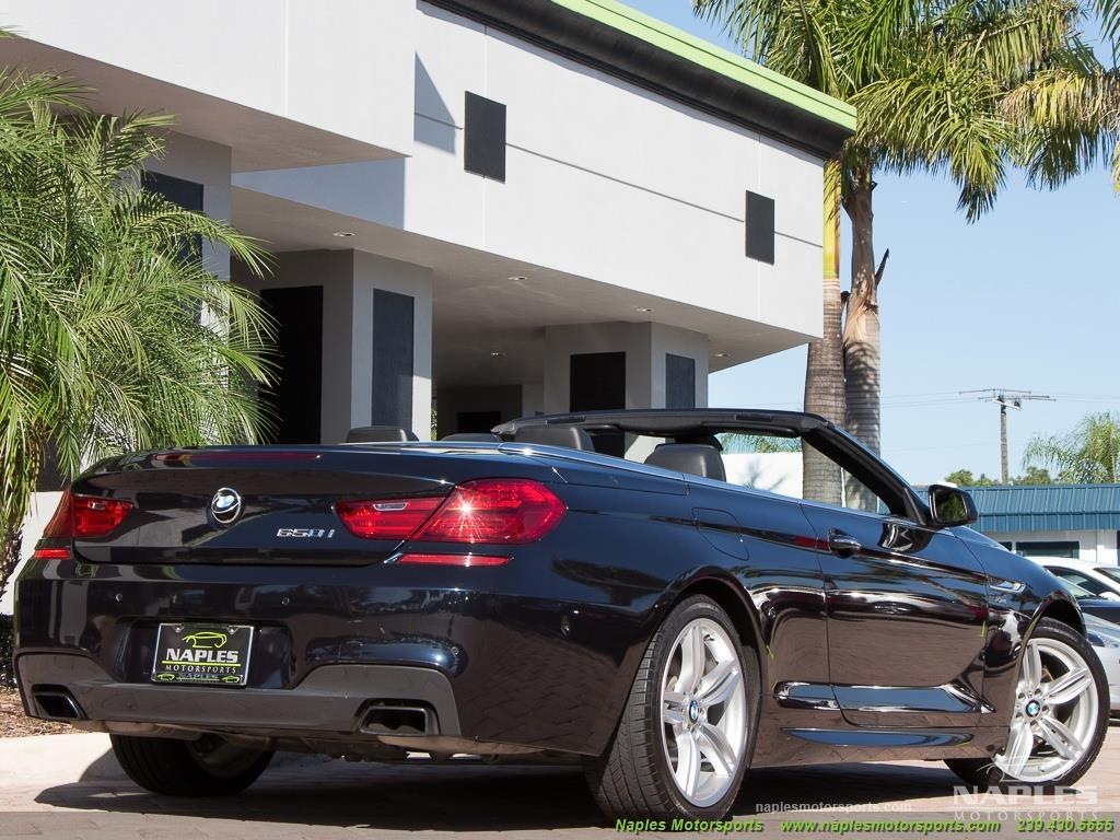 2012 BMW 650i xDrive Convertible - Photo 46 - Naples, FL 34104