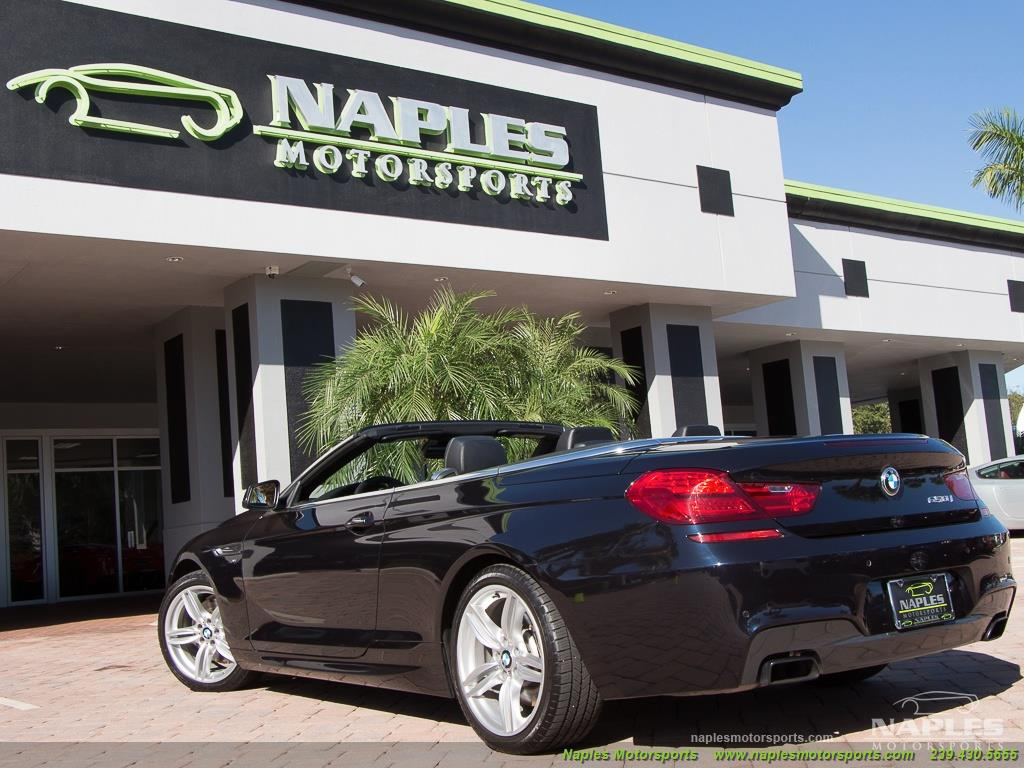 2012 BMW 650i xDrive Convertible - Photo 54 - Naples, FL 34104