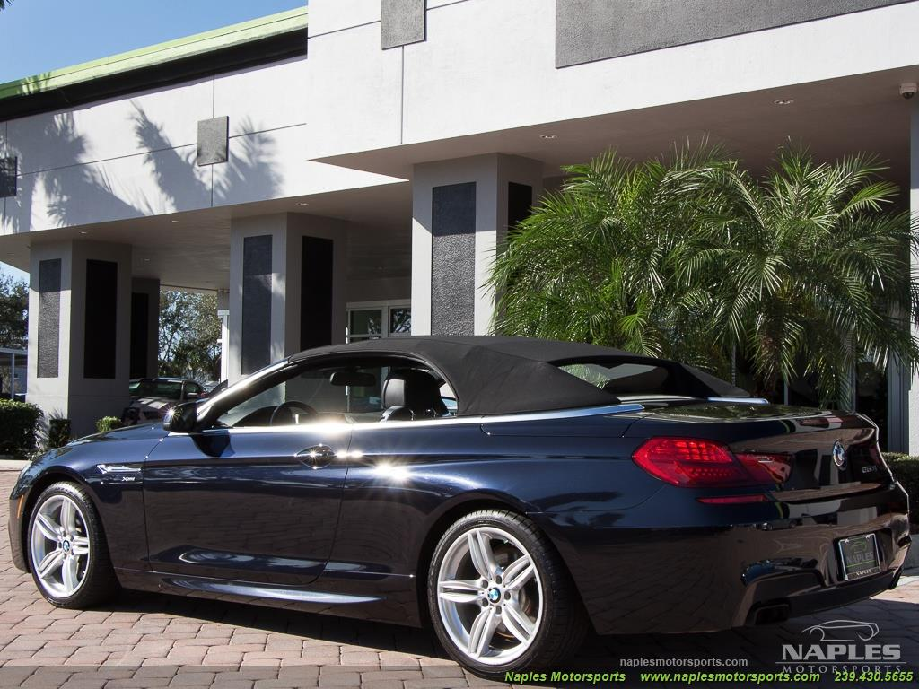 2012 BMW 650i xDrive Convertible - Photo 59 - Naples, FL 34104