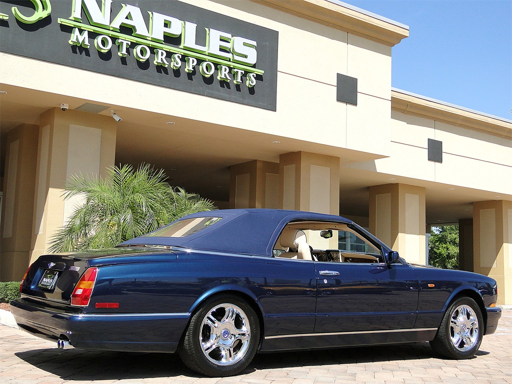 2002 bentley azure mulliner photo 14 naples fl 34104