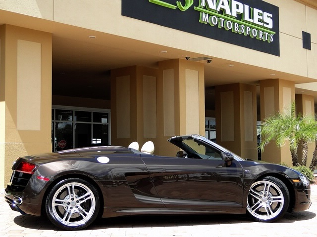 2011 Audi R8 5.2 quattro Spyder - Photo 35 - Naples, FL 34104