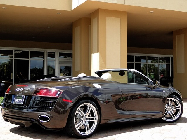 2011 Audi R8 5.2 quattro Spyder - Photo 39 - Naples, FL 34104