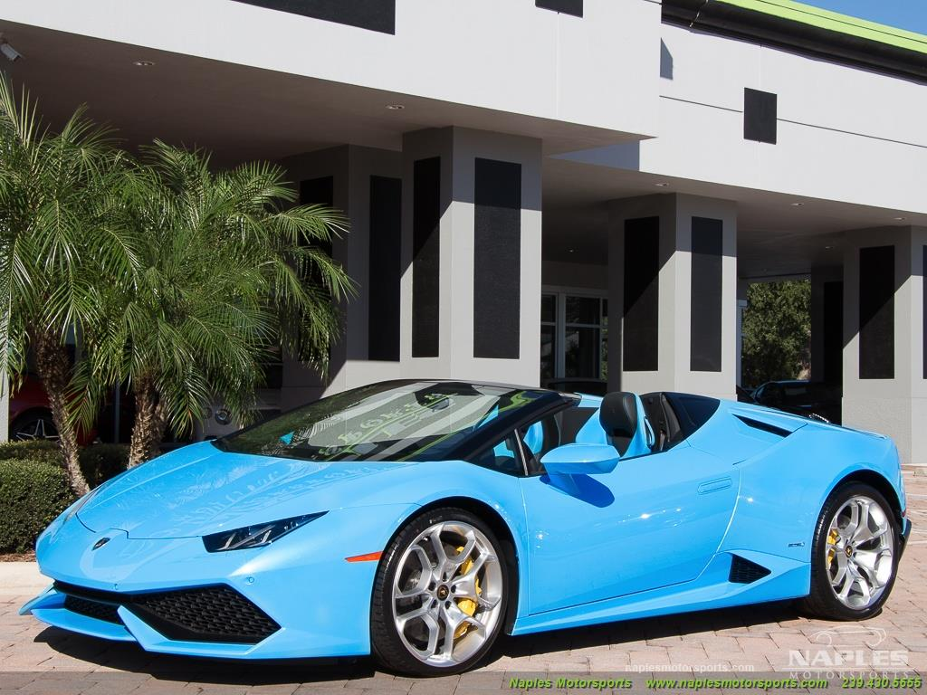 2016 Lamborghini Huracan LP 610-4 Spyder - Photo 20 - Naples, FL 34104