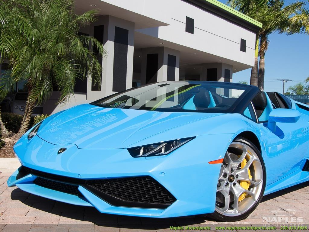 2016 Lamborghini Huracan LP 610-4 Spyder - Photo 30 - Naples, FL 34104