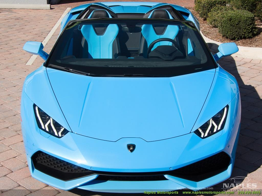 2016 Lamborghini Huracan LP 610-4 Spyder - Photo 41 - Naples, FL 34104