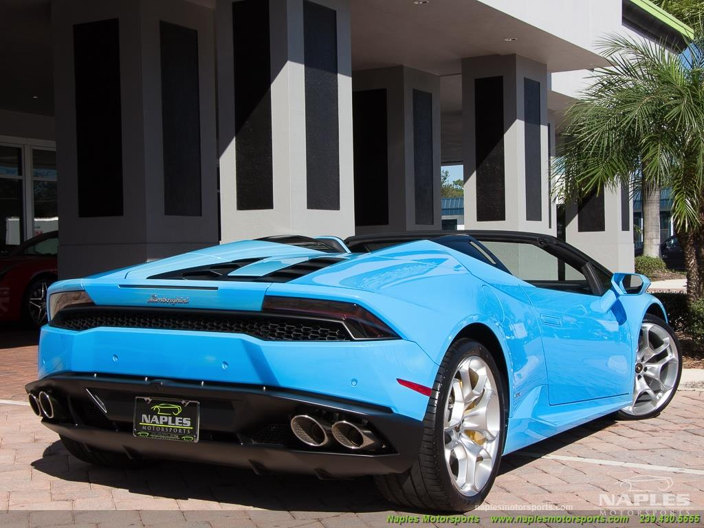 2016 Lamborghini Huracan LP 610-4 Spyder - Photo 53 - Naples, FL 34104