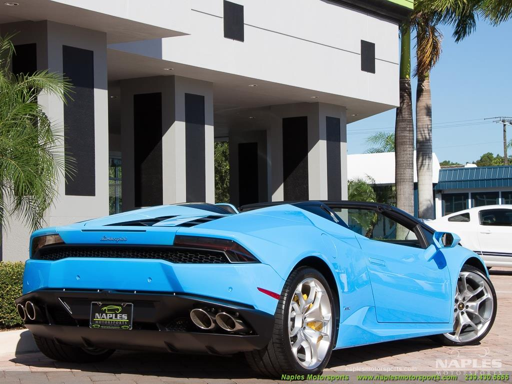 2016 Lamborghini Huracan LP 610-4 Spyder - Photo 40 - Naples, FL 34104