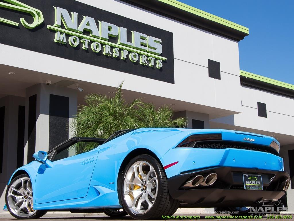 2016 Lamborghini Huracan LP 610-4 Spyder - Photo 48 - Naples, FL 34104