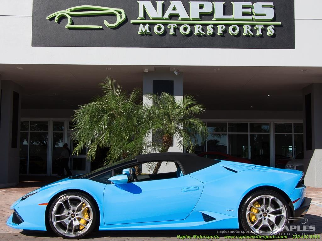 2016 Lamborghini Huracan LP 610-4 Spyder - Photo 17 - Naples, FL 34104