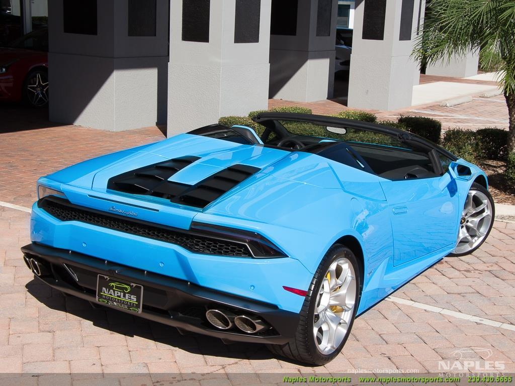 2016 Lamborghini Huracan LP 610-4 Spyder - Photo 52 - Naples, FL 34104