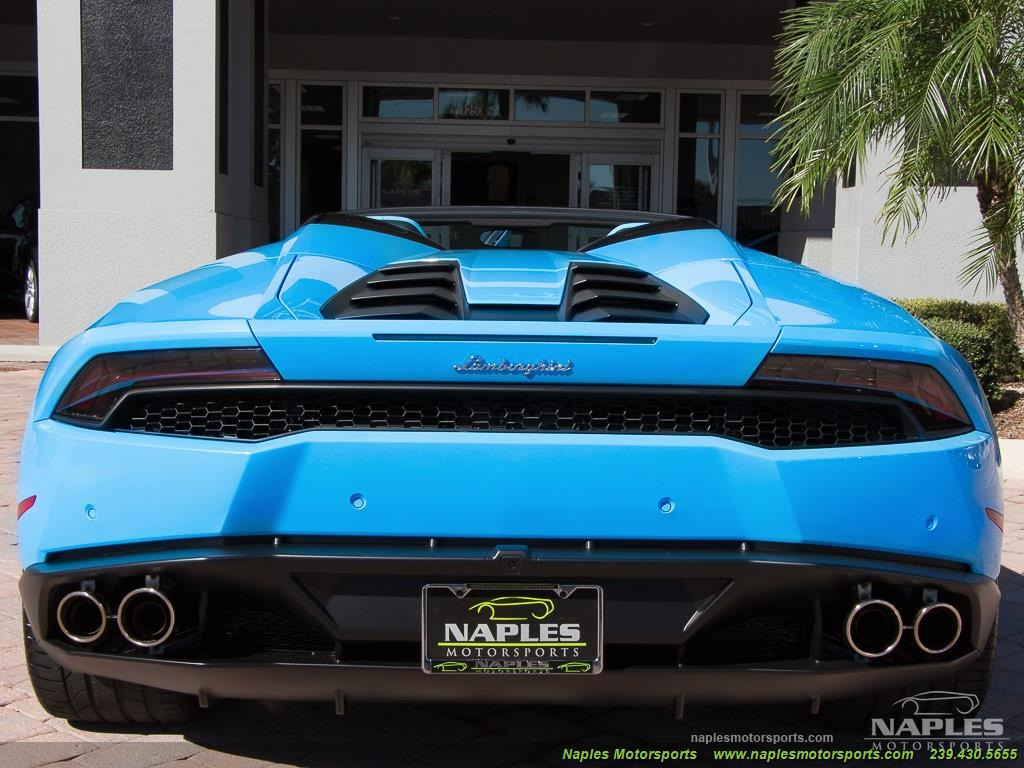 2016 Lamborghini Huracan LP 610-4 Spyder - Photo 45 - Naples, FL 34104