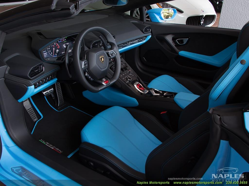 2016 Lamborghini Huracan LP 610-4 Spyder - Photo 21 - Naples, FL 34104