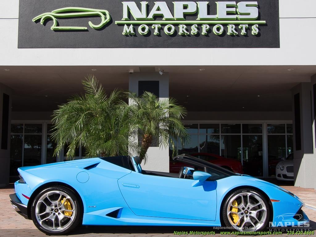 2016 Lamborghini Huracan LP 610-4 Spyder - Photo 35 - Naples, FL 34104