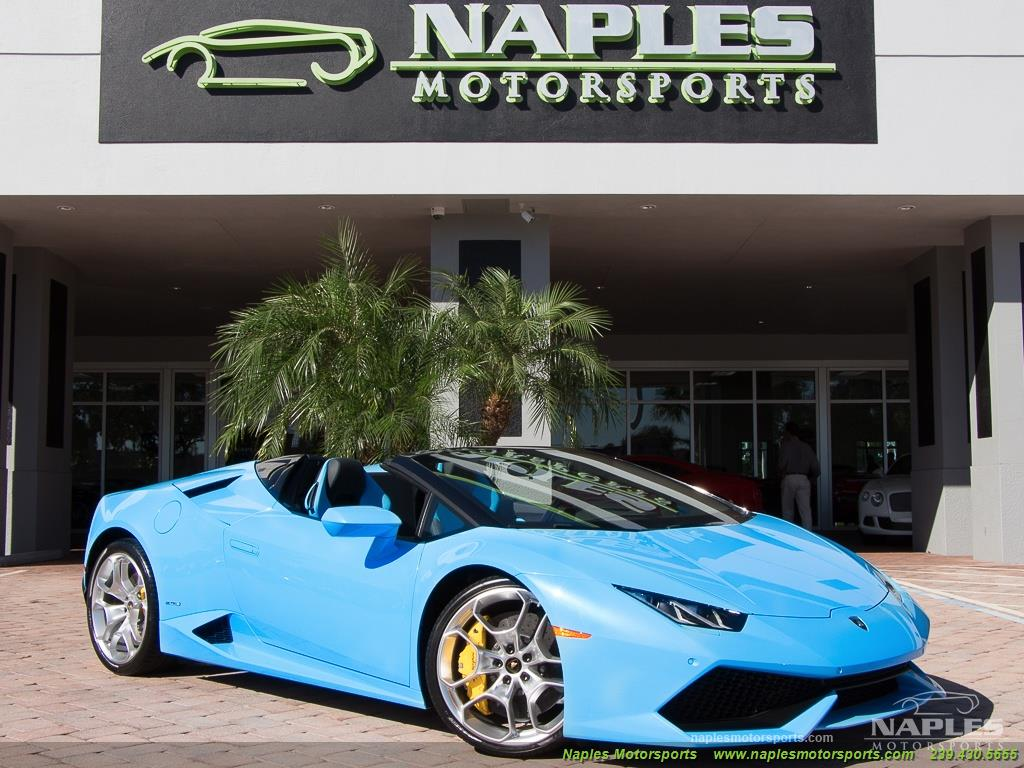 2016 Lamborghini Huracan LP 610-4 Spyder - Photo 55 - Naples, FL 34104