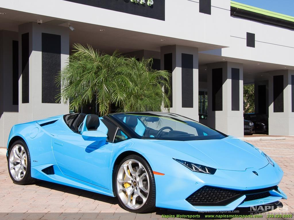 2016 Lamborghini Huracan LP 610-4 Spyder - Photo 43 - Naples, FL 34104
