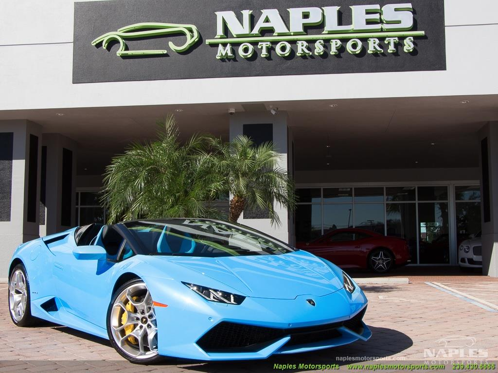 2016 Lamborghini Huracan LP 610-4 Spyder - Photo 13 - Naples, FL 34104